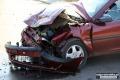 Wypadek w Łysych. Kobieta trafiła do szpitala (zdjęcia)