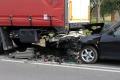 Wypadek w Pokrzywnicy. Ranna kobieta (zdjęcia)
