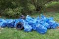 Piąte sprzątanie brzegów Narwi w Ostrołęce (zdjęcia)