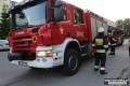 Dwa pożary, wypadek i zwłoki psa w Orzu