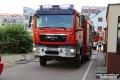 Pożar mieszkania przy ul. Gorbatowa (zdjęcia)