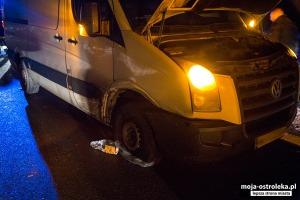 Fot. Wypadek w Żeraniu Małym