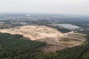 Działka pod budowę nowej elektrowni w Ostrołęce
