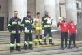 Strażacy z Ostrołęki na mistrzostwach w biegu po schodach