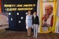 Uczennica z Przystani nagrodzona w konkursie o Janie Pawle II (zdjęcia)